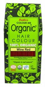 Radico Organic Hair Colour Powder Wine Red 100g |