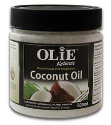 Olie Naturals Coconut Oil Pet |