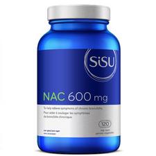 Sisu NAC 600mg 120 Veg Caps  | 777672026279