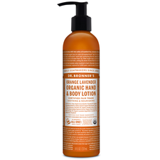 Dr. Bronner's Organic Hand & Body Lotion Orange Lavender 237ml | 018787930014