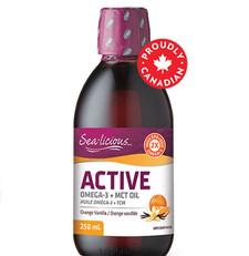 Sea-Licious Active Omega 3 + MCT Oil Orange Vanilla 250 ml | 884288860750