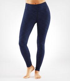 Manduka Apparel Essential Legging Blue Melange | XL: 846698043451