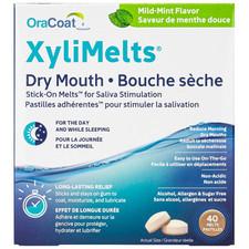 Oral Science X-PUR Oracoat Xylimelts Pastilles Mild Mint 40 Count | 855933000715