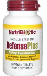NutriBiotic DefensePlus   728177010157
