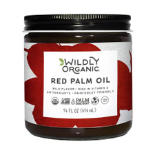 Wildly Organic Red Palm Oil Natural 414 ml | 898392004139