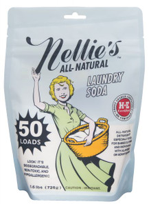 Nellie's All Natural Laundry Soda 50 Loads | 810648001235
