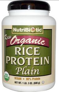 NutriBiotic Raw Organic Rice Protein | 728177030001