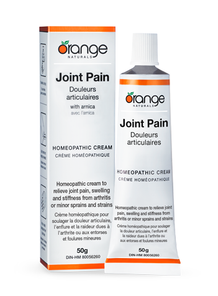 Orange Naturals Joint Pain Homeopathic Cream with Arnica | 886646050568