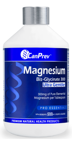 CanPrev Magnesium Bis-Glycinate 300 Ultra Gentle Liquid | 854378001592