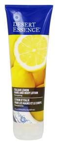 Desert Essence Italian Lemon Hand and Body Lotion 237 ml   718334337753