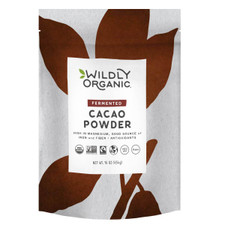 Wildly Organic Naturals Fermented Cacao Powder 454 grams | 898392000155