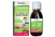 Herbion Cough Syrup for Children 150ml- Cherry | 4607006674837