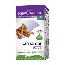 New Chapter Cinnamon Force  Liquid Capsules | 727783100689, 727783100696