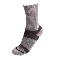 Incrediwear Trek Socks for Hiking Grey 1 Pair | 891709000886 | 891709000107 | 891709000879