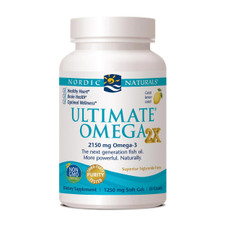 Nordic Naturals Ultimate Omega 2X (2000mg EPA+DHA per 2 softgels) 60 Soft Gels   768990717857