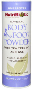 NutriBiotic Body and Foot Powder   728177010607