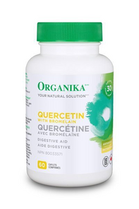 Organika Quercetin with Bromelain 500mg 60 Caplets | 620365025601