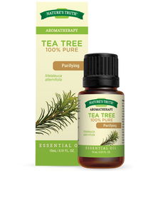 Nature's Truth Aromatherapy Tea Tree Oil Purifying essential oil 15mL   840093102577