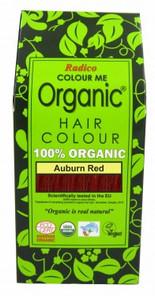 Radico Organic Hair Colour Powder Auburn Red | 8902670020277