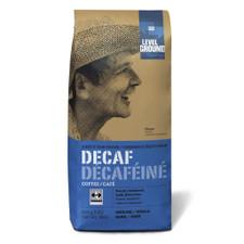 Level Ground Trading Decaf Dark Roast Ground Coffee   661594200506