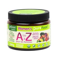Pranin Organic PureFood Women's A to Z | 816951000187