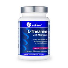 CanPrev L-Theanine with Magnesium | 854378001608