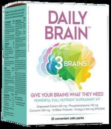 3 Brains Daily Brain | 628235330596