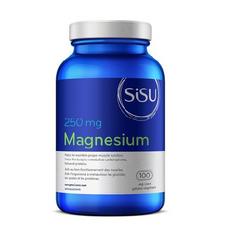 Sisu Magnesium 250mg 100 Veg Caps | 777672011480