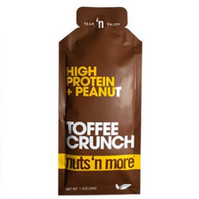 Nuts 'N More Toffee Crunch High Protein + Peanut Spread 34 grams | 706954923906