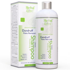 Herbal Glo Advanced Scalp Care Dandruff Control Shampoo - Flake Removal 250mL | 763151331033