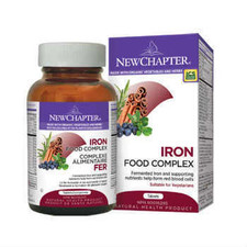 New Chapter Fermented Iron Complex 60 Tablets   727783101068