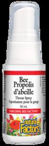 Natural Factors Bee Propolis Throat Spray | 068958031712