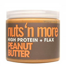 Nuts 'N More Peanut Butter High Protein + Flax Spread | 609132002427