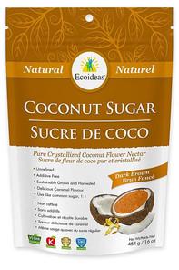 Ecoideas Natural Coconut Sugar Dark Brown | 875405001583