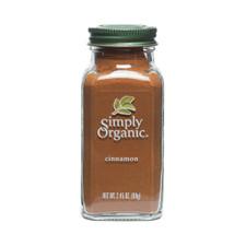 Simply Organic Cinnamon 69g   089836192110