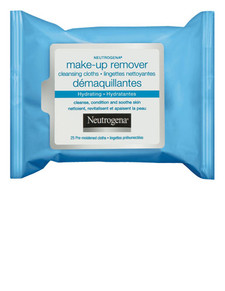 Neutrogena Hydrating Makeup Removing Wipes | 0062600963079