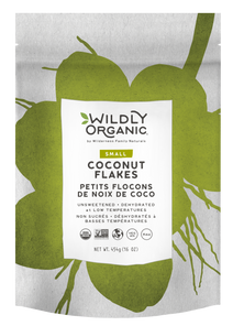 Wildly Organic Dehydrated Small Coconut Flakes Unsweetened   898392006232