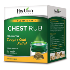 Herbion All Natural Chest Rub 100g | 4607006674875
