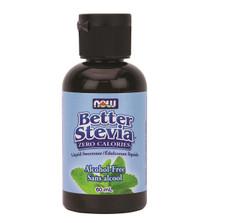 Now Better Stevia Glycerite Alcohol-Free Liquid | 733739869524
