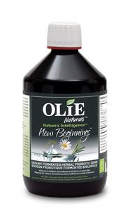 Olie Naturals New Beginnings Probiotic Drink 500mL | 627843243854