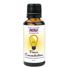 Now Essential Oils Focus Concentration Centering Blend | 733739876065