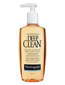 Neutrogena Deep Clean Facial Cleanser | 0062600410009