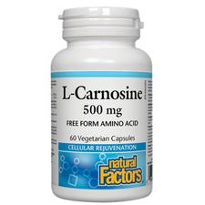 Natural Factors L-Carnosine 500mg 60 Vcaps | 068958028057