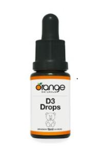 Orange Naturals D3 Drops 400IU For Kids  886646020226