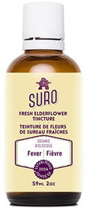 Suro Organic Fresh Elderflower Tincture | 793573462718