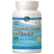 Nordic Naturals Complete Omega Junior 90 soft gels | 768990717758