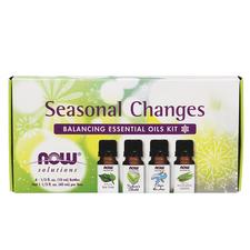 Now Solutions Seasonal Changes Balancing Essential Oils Kit 4 x 10 mL | 733739076564