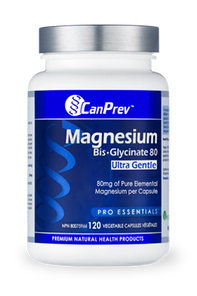 CanPrev Magnesium Bis-Glycinate 80 Mg Ultra Gentle | 854378002285