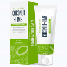 Schmidt's Naturals Coconut Lime Toothpaste 4.7 oz | 859139006502