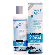 Herbal Glo Hair Repair Purifying Shampoo With African Botanicals | 063151332017 | 063151332086